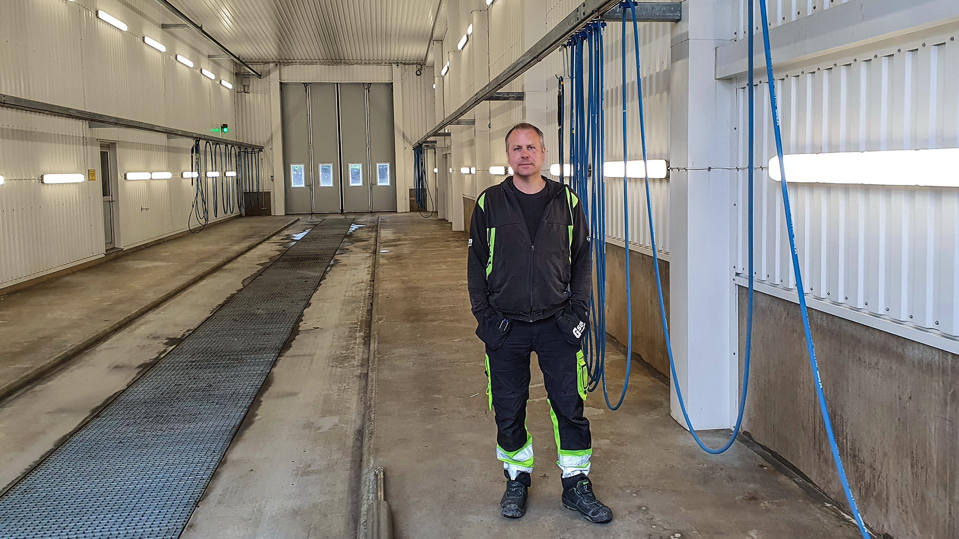 Lastbilstvätten Trestad Center